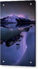 Celestial Reflection // Lake Mcdonald, Glacier National Park  Acrylic Print