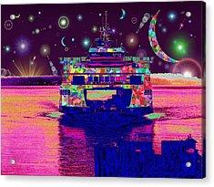 Celestial Sailing Acrylic Print by Tim Allen