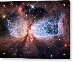 Celestial Snow Angel - Enhanced - Sharpless 2-106 Acrylic Print