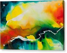 Celestial Traveler No. 2294 Acrylic Print by Ilisa Millermoon