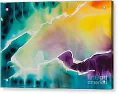 Celestial Traveler No. 2295 Acrylic Print by Ilisa Millermoon