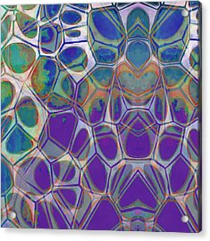 Cell Abstract 17 Acrylic Print by Edward Fielding