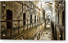 Cell Block 7 Acrylic Print by Heather Applegate
