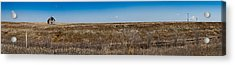 Cell Towers Invade The Prairie Acrylic Print