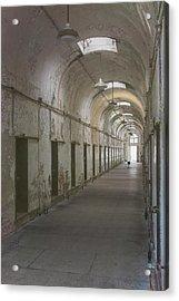 Cellblock Hallway Acrylic Print
