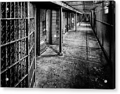 Cellblock No. 9 Acrylic Print by Tom Mc Nemar