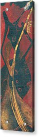 Acrylic Print featuring the painting Cellist by Maya Manolova