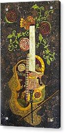 Cello Fantasy Acrylic Print by Lynda K Boardman