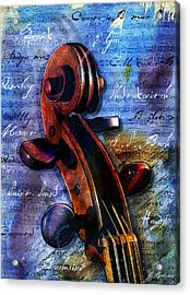 Cello Masters Acrylic Print