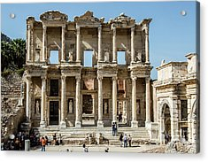 Celsus Library Acrylic Print