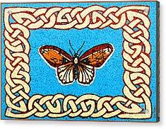 Celtic Butterfly Acrylic Print