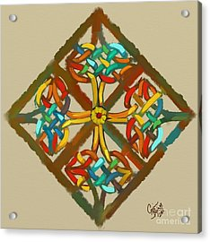 Celtic Cross 1 Acrylic Print