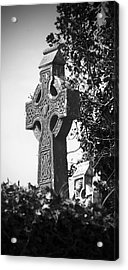 Celtic Cross At Fuerty Cemetery Roscommon Ireland Acrylic Print