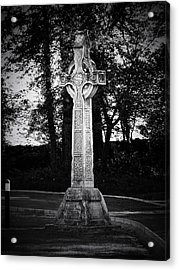 Celtic Cross In Killarney Ireland Acrylic Print