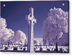 Celtic Cross Acrylic Print by James Walsh