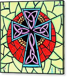 Celtic Cross Acrylic Print by Jim Harris