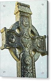 Celtic Cross Acrylic Print by Julie Williams