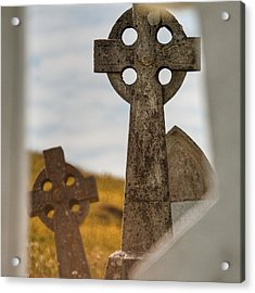 Celtic Crosses Acrylic Print