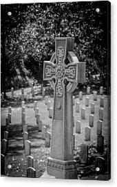 Celtic Grave Acrylic Print