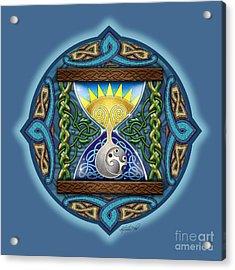 Celtic Sun Moon Hourglass Acrylic Print