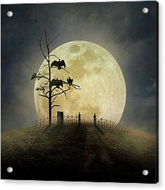 Cemetery Hill Acrylic Print