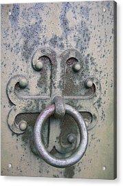 Cemetery Still-life Acrylic Print by Jonathan Kotinek