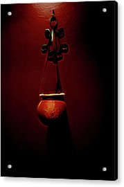 Censor Acrylic Print by William Horden