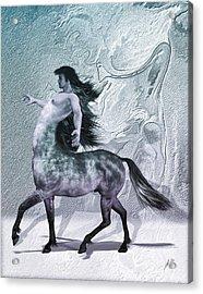 Centaur Cool Tones Acrylic Print