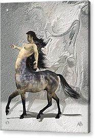 Centaur Warm Tones Acrylic Print