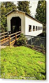 Centennial Bridge Acrylic Print