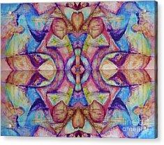 Center Acrylic Print