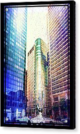 Center Of Attention Acrylic Print by Marvin Spates