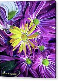 Centerofattention Acrylic Print