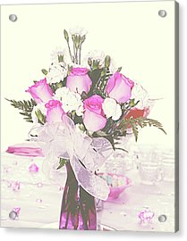 Centerpiece Acrylic Print by Inspirational Photo Creations Audrey Woods