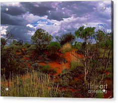 Acrylic Print featuring the photograph Central Australia I by Louise Fahy