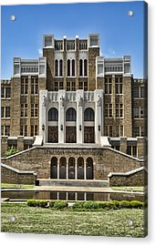 Central High School - Little Rock Acrylic Print by Stephen Stookey