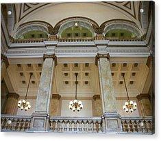 Central Library Milwaukee Interior Acrylic Print