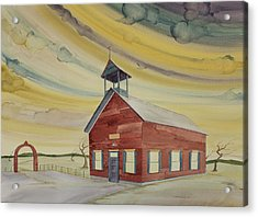 Central Ohio Schoolhouse Acrylic Print