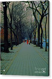 Central Park East Acrylic Print