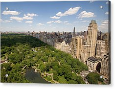 Central Park In New York City Acrylic Print by Joel Sartore