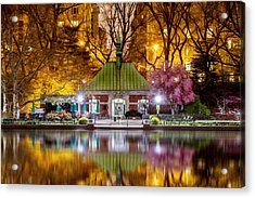 Central Park Memorial Acrylic Print by Az Jackson