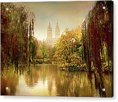 Acrylic Print featuring the photograph Central Park Splendor by Jessica Jenney