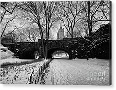 Central Park West And The San Remo Building  Acrylic Print by John Farnan