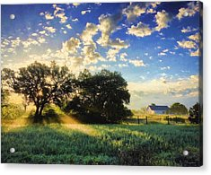 Central Texas Sunrise Acrylic Print