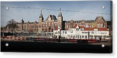 Acrylic Print featuring the photograph Central Train Station by Scott Hovind