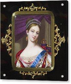 century Queen Victoria Acrylic Print