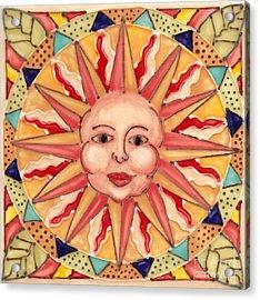 Ceramic Sun Acrylic Print