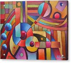 Cerebral Decor # 5 Acrylic Print by Jason Williamson