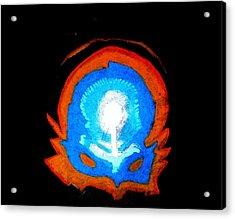 Cerebral Mask Acrylic Print