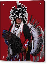 Ceremonial Dress Acrylic Print
